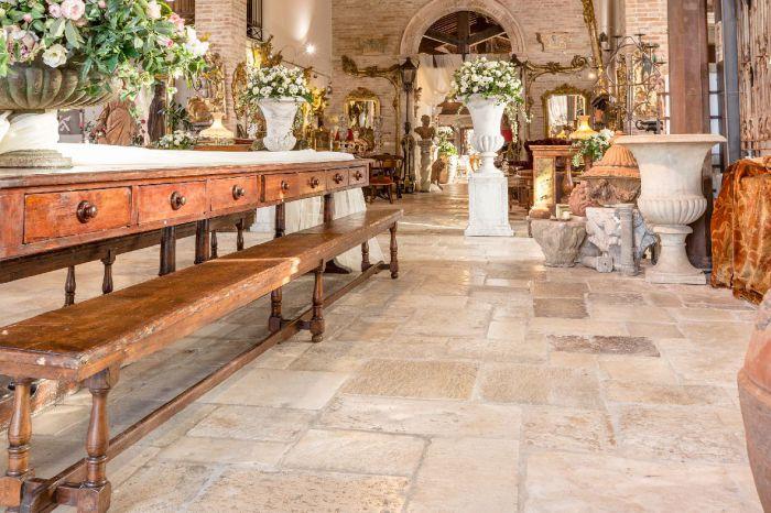 Pavimenti antichi di recupero in pietra, cotto e legno!!