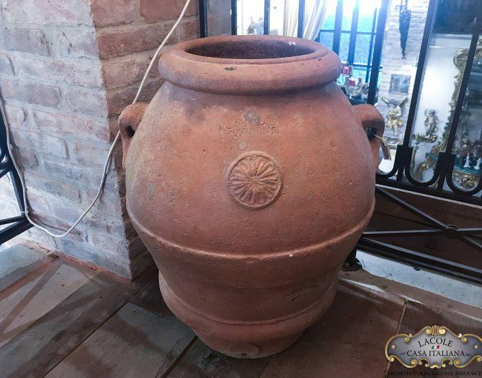 Antique jar by Carlo Vanni, From Impruneta