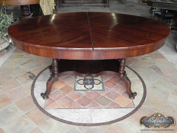 Beautiful oval tables from various eras and styles
